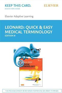 Elsevier Adaptive Learning for Quick & Easy Medical Terminology (Access Card) - Reference Dictionaries