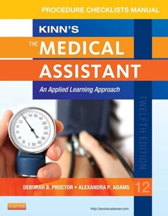 (ebook) Procedure Checklist Manual for Kinn's The Medical Assistant - E-Book - Reference Medicine