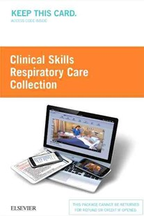 Clinical Skills - Respiratory Care Collection by Elsevier (9780323394314) - HardCover - Reference Medicine