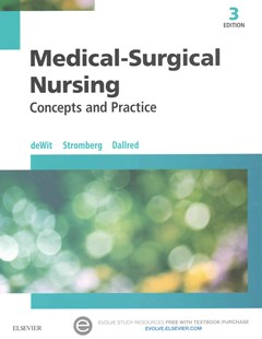 Medical-Surgical Nursing - Text and Study Guide Package by Susan C. deWit, Candice K. Kumagai, Carol Vreeland Dallred (9780323431514) - PaperBack - Reference Medicine