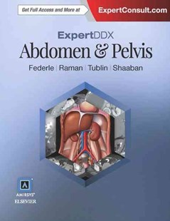 ExpertDDx: Abdomen and Pelvis by Michael P. Federle, Mitchell E. Tublin, Siva P. Raman (9780323442879) - HardCover - Reference Medicine
