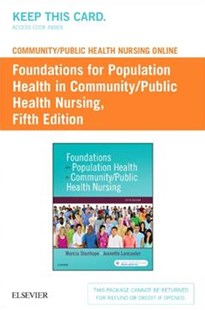 Community/Public Health Nursing Online for Stanhope and Lancaster Access Card by Stanhope, Marcia/ Lancaster, Jeanette (9780323444071) - HardCover - Reference Medicine
