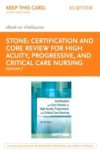 (ebook) Certification and Core Review for High Acuity and Critical Care Nursing - E-Book - Reference Medicine