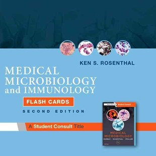 Medical Microbiology and Immunology Flash Cards by Ken S. Rosenthal (9780323462242) - PaperBack - Reference Medicine