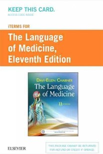 The Language of Medicine iTerms Access Code by Davi-Ellen Chabner (9780323479301) - HardCover - Reference Medicine