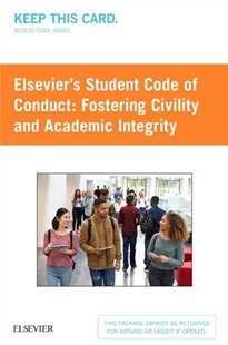 Elsevier's Student Code of Conduct Access Card by Elsevier (9780323483940) - HardCover - Reference Medicine