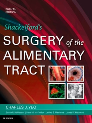 (ebook) Shackelford's Surgery of the Alimentary Tract, E-Book