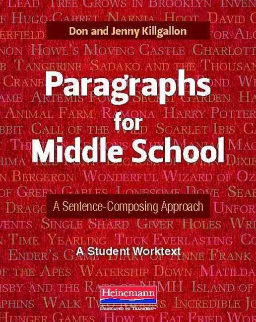Paragraphs for Middle School