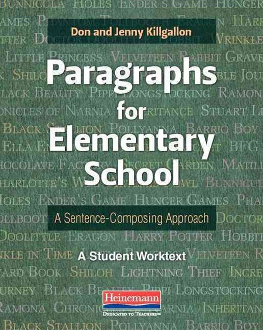 Paragraphs for Elementary School