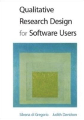 (ebook) Qualitative Research Design For Software Users
