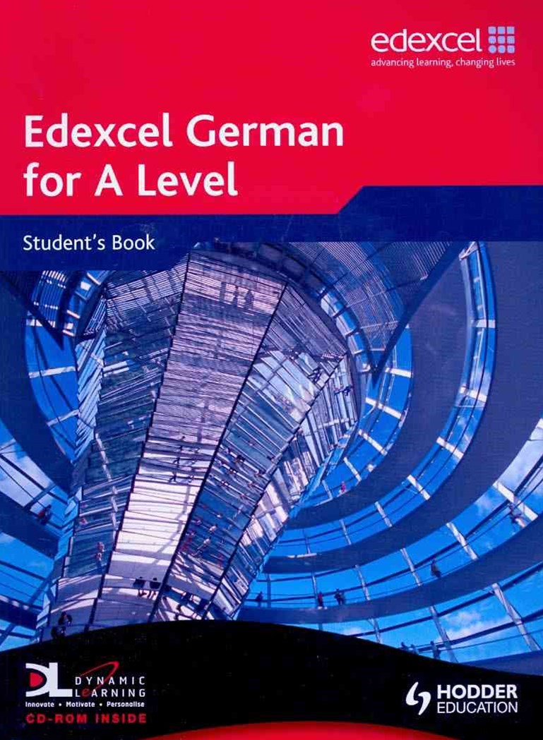 Edexcel German For a Level Student Book (Plus CD)