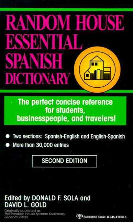 Rh Essential Spanish Dictionary