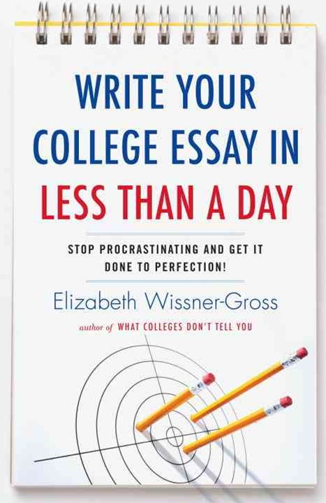 Write Your College Essay In Less Than A Day