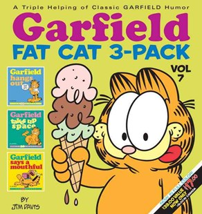 Garfield Fat Cat 3-Pack #7 by Jim Davis (9780345525888) - PaperBack - Graphic Novels Comics