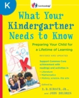 (ebook) What Your Kindergartner Needs to Know (Revised and updated)