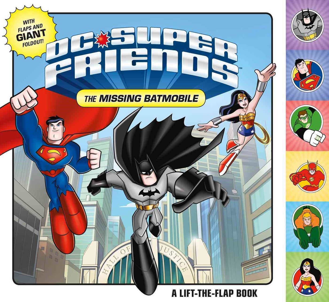 DC Super Friends: the Missing Batmobile