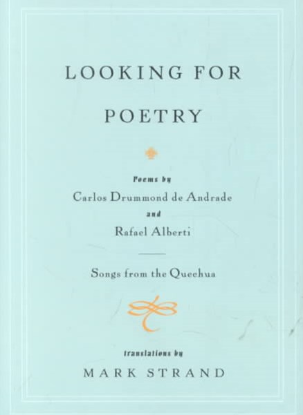 Looking for Poetry