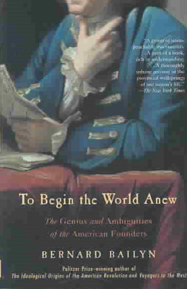 To Begin The World Anew