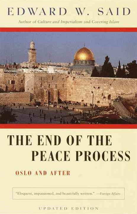 The End of the Peace Process