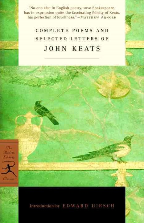 Mod Lib Complete Poems & Selected Letters Of John Keats