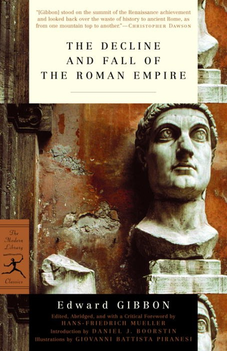 Mod Lib Decline & Fall Of Roman Empire