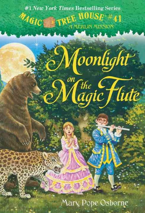 Magic Tree House #41 Moonlight On The Magic Flute