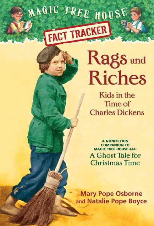 Magic Tree House Fact Tracker #22 Rags And Riches