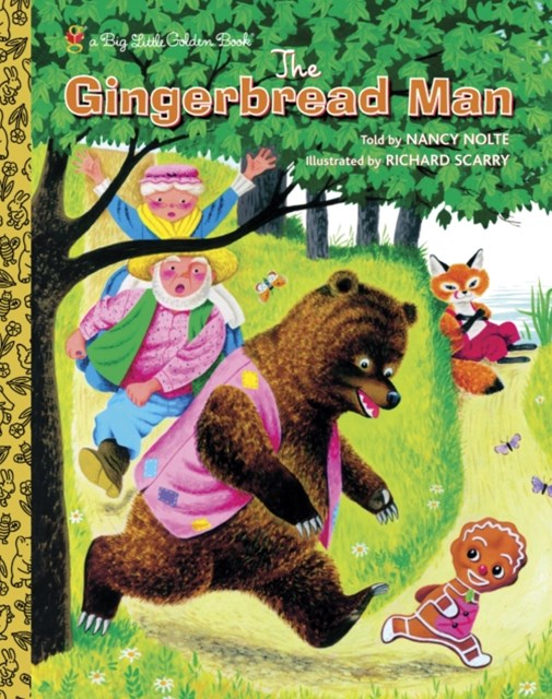 (ebook) Richard Scarry's The Gingerbread Man
