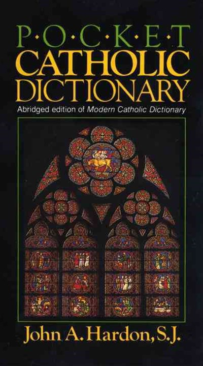 Pocket Catholic Dictionary