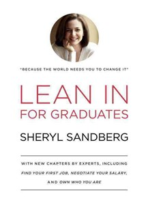 Lean in for Graduates by Sheryl Sandberg, Nell Scovell (9780385353670) - HardCover - Biographies General Biographies