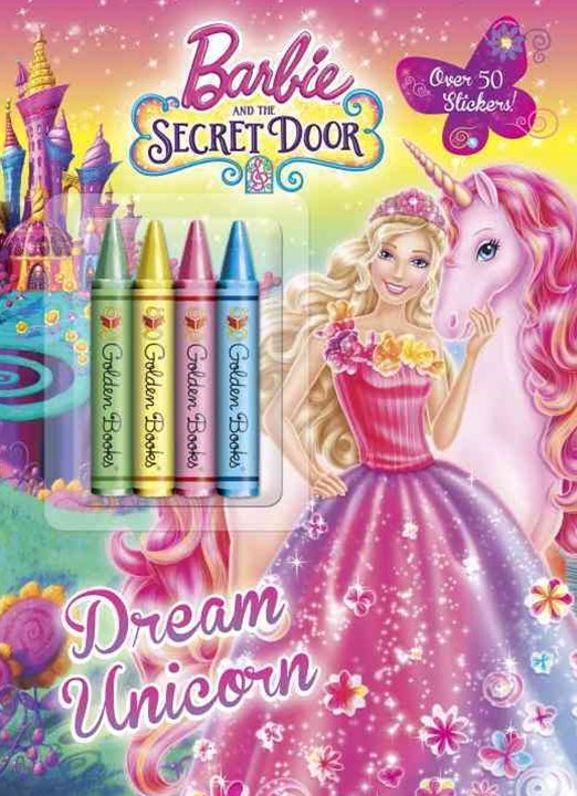 Barbie Fall 2014 DVD Chunky Crayon with Stickers (Barbie)