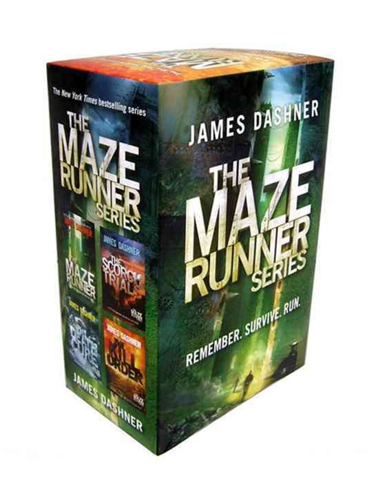 The Maze Runner; The Scorch Trials; The Death Cure; The Kill Order