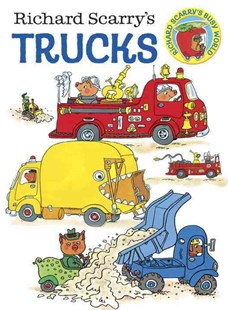 Board Bk: Richard Scarry's Trucks by Richard Scarry (9780385389259) - HardCover - Children's Fiction Early Readers (0-4)