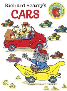 Board Bk: Richard Scarry's Cars - Children's Fiction Early Readers (0-4)