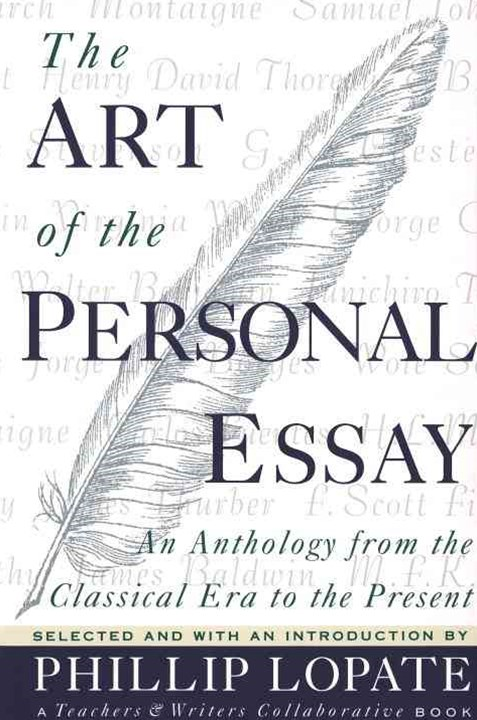 The Art of the Personal Essay