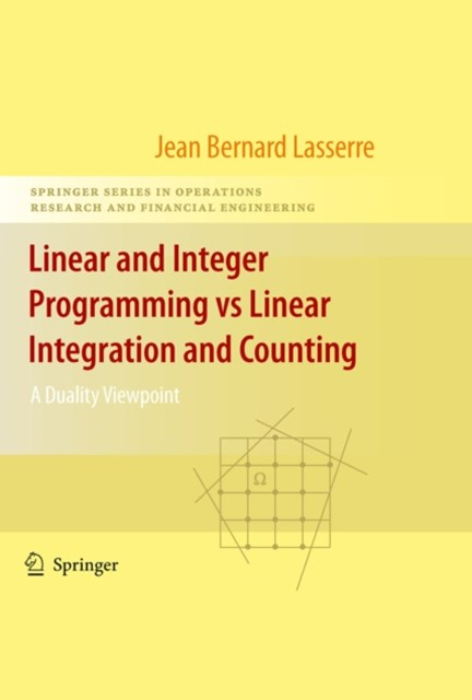 (ebook) Linear and Integer Programming vs Linear Integration and Counting