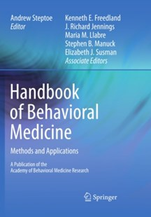 (ebook) Handbook of Behavioral Medicine - Reference Medicine