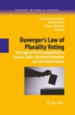 (ebook) Duverger's Law of Plurality Voting