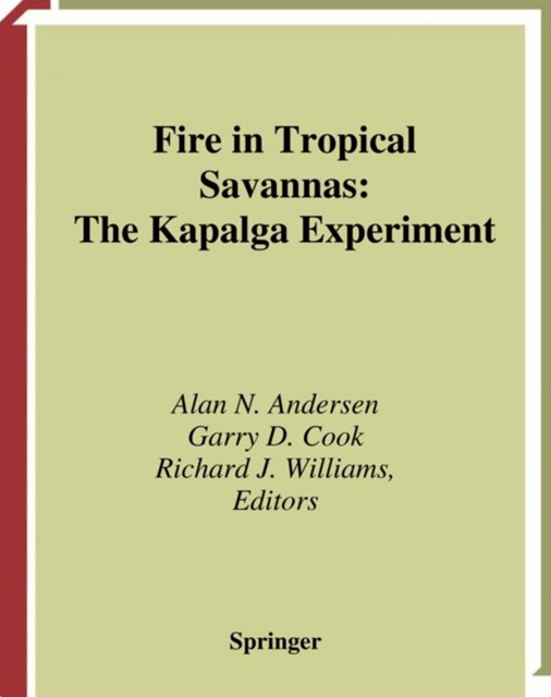 (ebook) Fire in Tropical Savannas