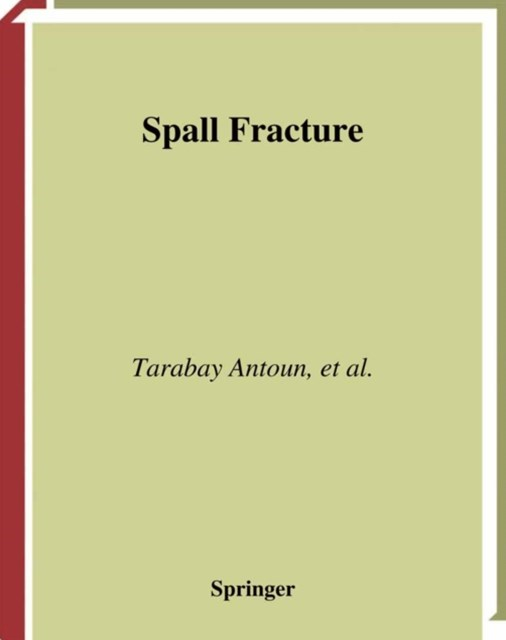 (ebook) Spall Fracture