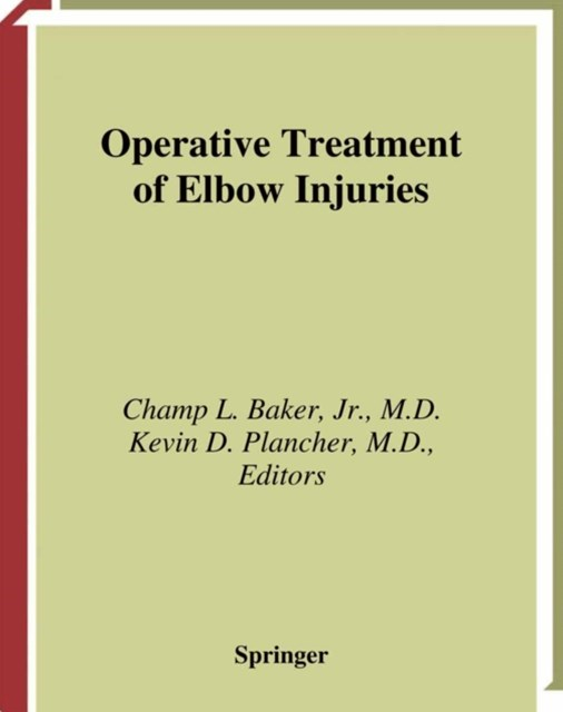 (ebook) Operative Treatment of Elbow Injuries