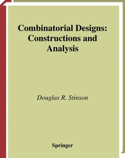 (ebook) Combinatorial Designs