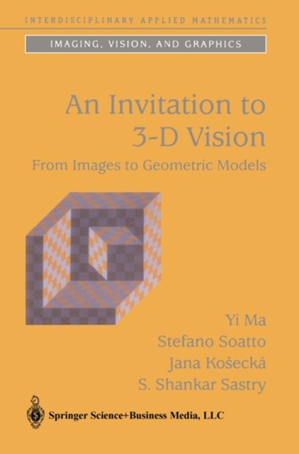 Invitation to 3-D Vision