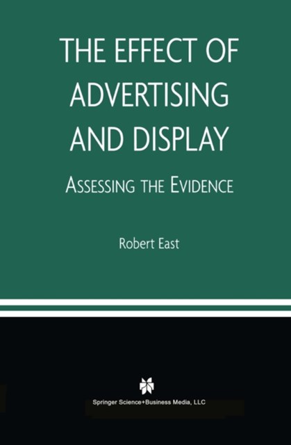 Effect of Advertising and Display