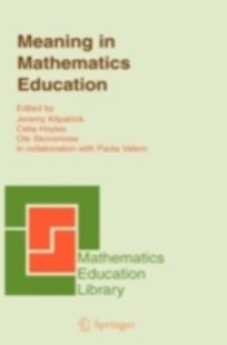 (ebook) Meaning in Mathematics Education - Education Teaching Guides