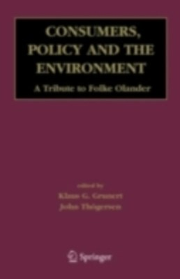 Consumers, Policy and the Environment
