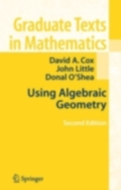 (ebook) Using Algebraic Geometry