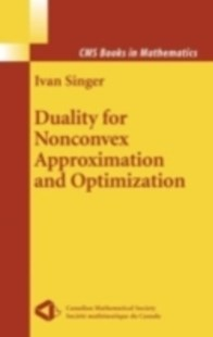 (ebook) Duality for Nonconvex Approximation and Optimization - Science & Technology Mathematics