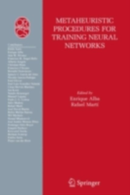 Metaheuristic Procedures for Training Neural Networks
