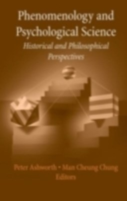 (ebook) Phenomenology and Psychological Science